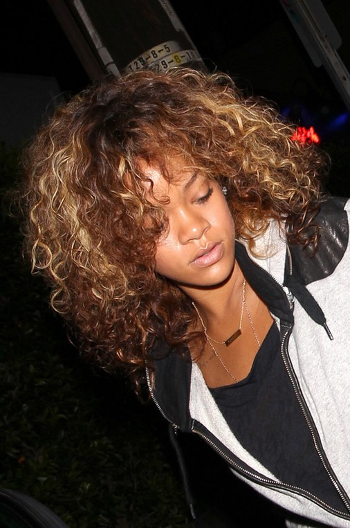 Best ideas about Rihanna Curly Hairstyles . Save or Pin Rihanna Hairstyles Celebrity Latest Hairstyles 2016 Now.