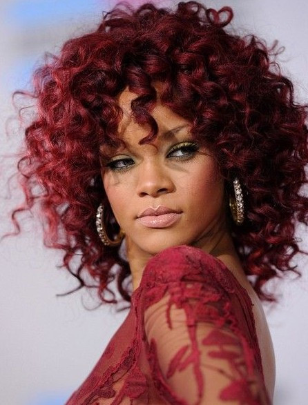 Best ideas about Rihanna Curly Hairstyles . Save or Pin 15 Rihanna Hairstyles Different Haircut PoPular Haircuts Now.