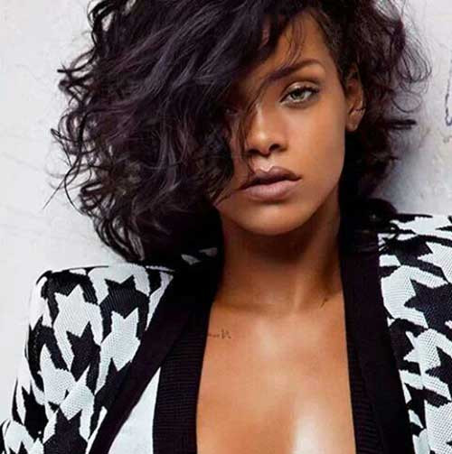 Best ideas about Rihanna Curly Hairstyles . Save or Pin 15 Rihanna Short Curly Hair Now.