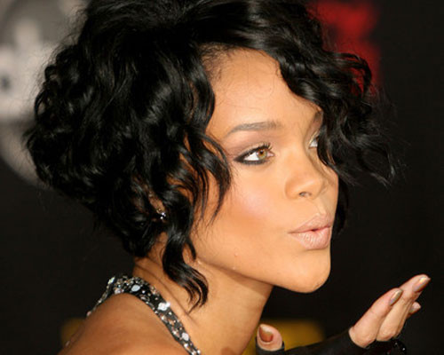Best ideas about Rihanna Curly Hairstyles . Save or Pin 30 Curly Bob Hairstyles Which Look Tremendously Well Now.