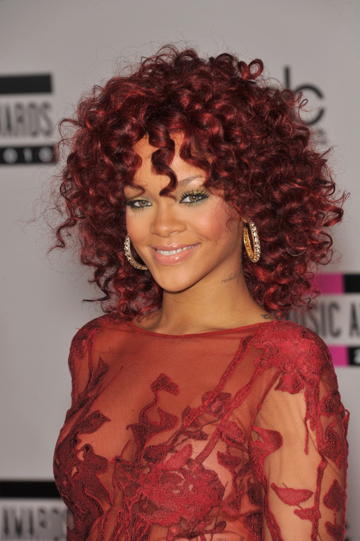 Best ideas about Rihanna Curly Hairstyles . Save or Pin Rihanna Hairstyles s of Rihanna s Best Hair Moments Now.