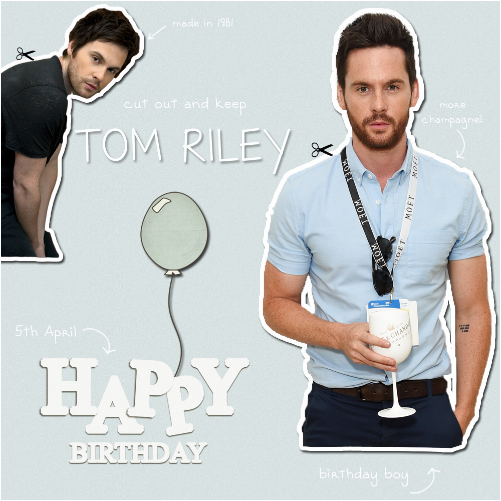 Best ideas about Riley's Birthday Wish . Save or Pin Happy Happy Birthday Tom Riley Now.
