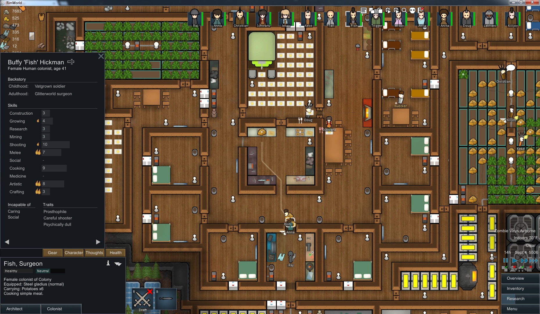 Best ideas about Rimworld Impressive Bedroom . Save or Pin Tricks to keep colonists happy RimWorld Now.