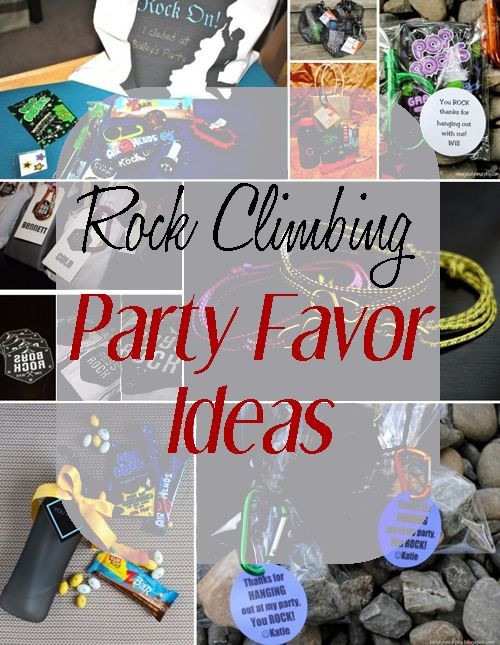 Best ideas about Rock Climbing Birthday Party . Save or Pin Rock Climbing Party Favor Ideas Birthday Now.
