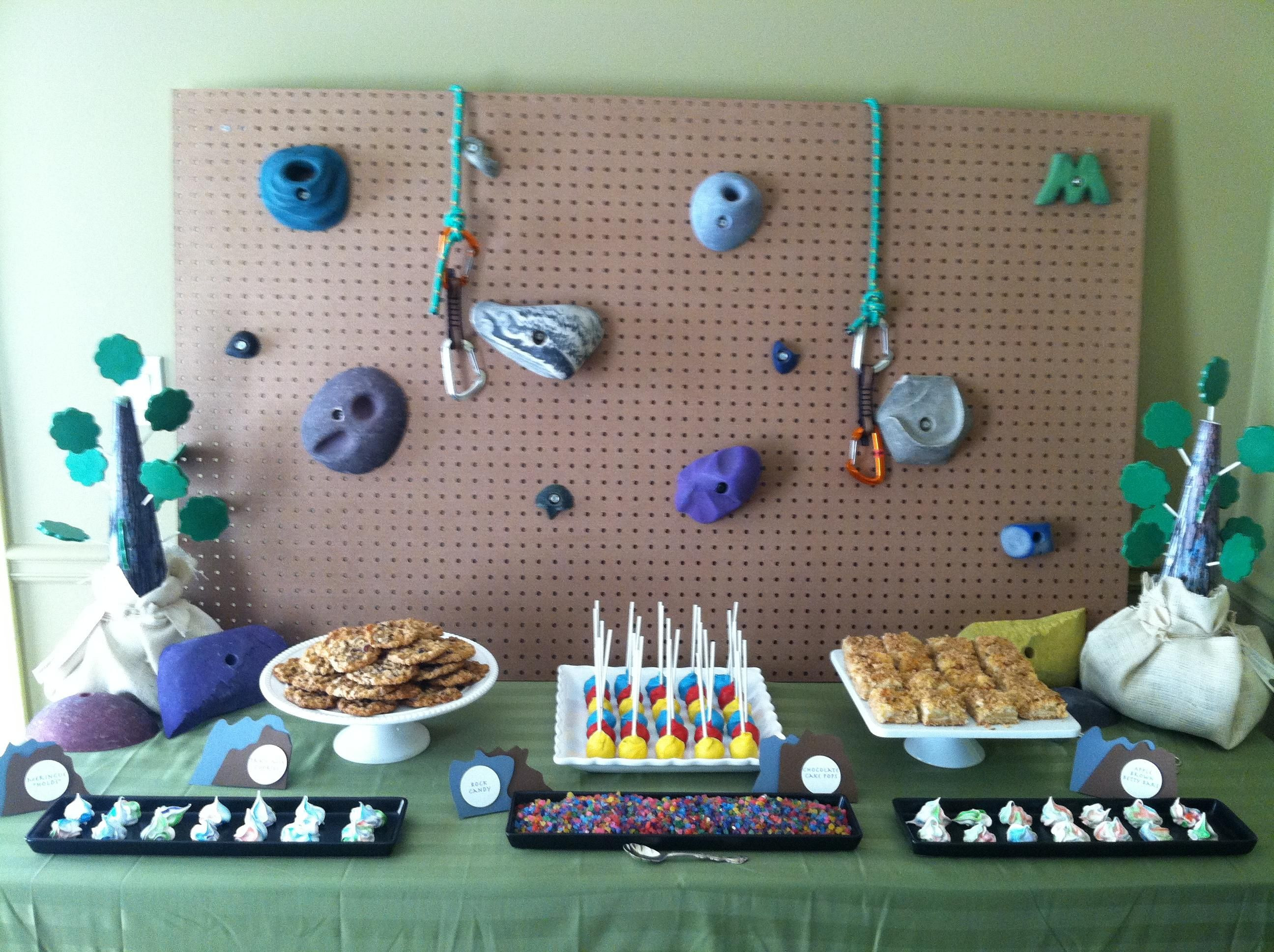 Best ideas about Rock Climbing Birthday Party . Save or Pin rock climbing party Rock Events Now.