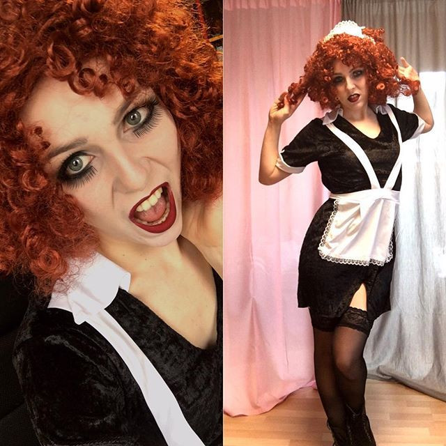 Best ideas about Rocky Horror Picture Show Costumes DIY . Save or Pin DIY Magenta Costume Now.