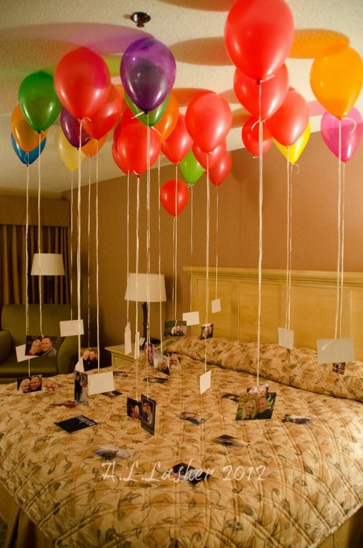 Best ideas about Romantic Birthday Ideas . Save or Pin My wonderful husband did this for me for our 20 year Now.