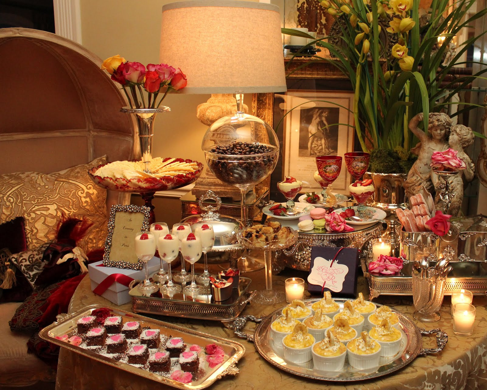 Best ideas about Romantic Birthday Ideas . Save or Pin Romancing the Home Romantic Tastings Our Party Continues Now.