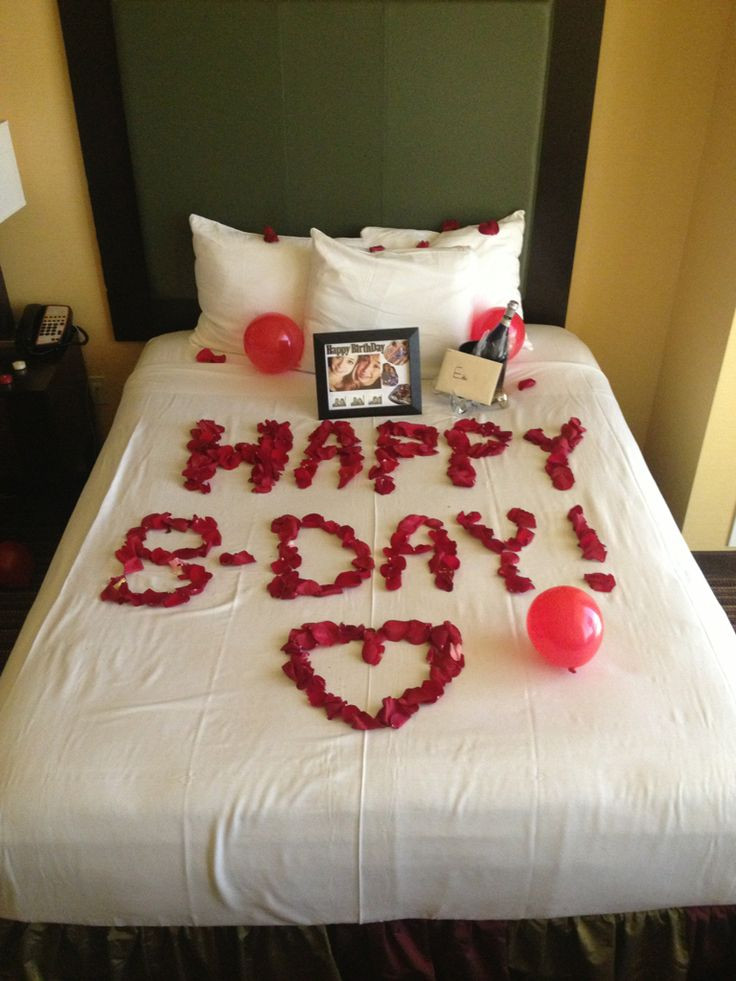 Best ideas about Romantic Birthday Ideas . Save or Pin Best 25 Birthday surprises for him ideas on Pinterest Now.