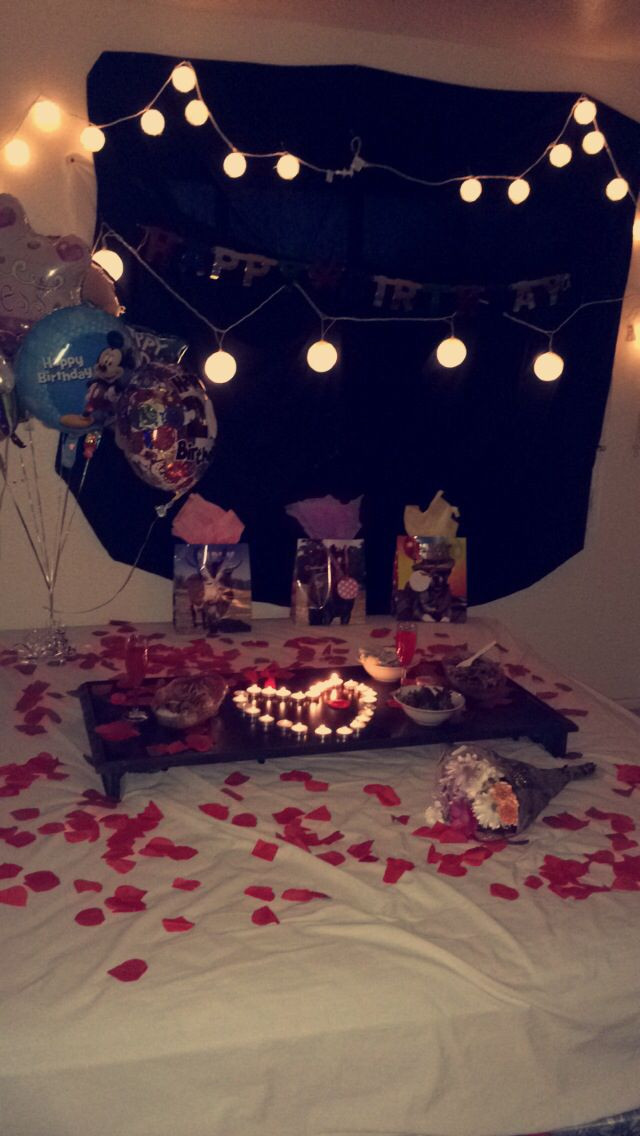 Best ideas about Romantic Birthday Ideas . Save or Pin 25 Best Ideas about Girlfriend Surprises on Pinterest Now.
