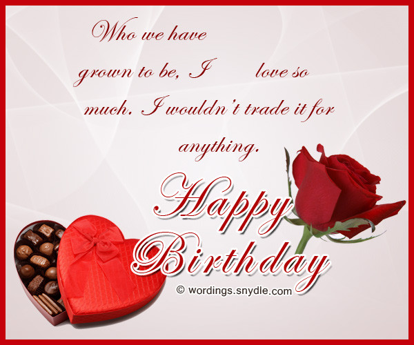 Best ideas about Romantic Birthday Wishes . Save or Pin Birthday Wishes for Boyfriend and Boyfriend Birthday Card Now.