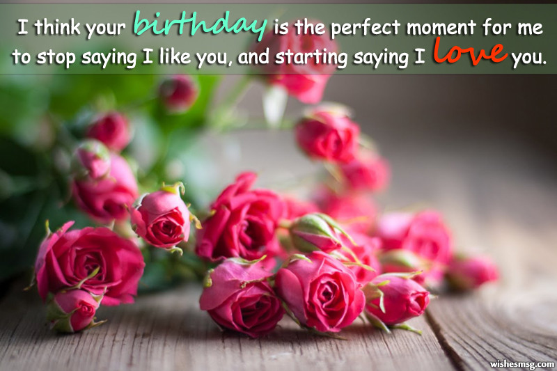 Best ideas about Romantic Birthday Wishes For Girlfriend . Save or Pin Birthday Wishes for Girlfriend Cute Romantic and Funny Now.