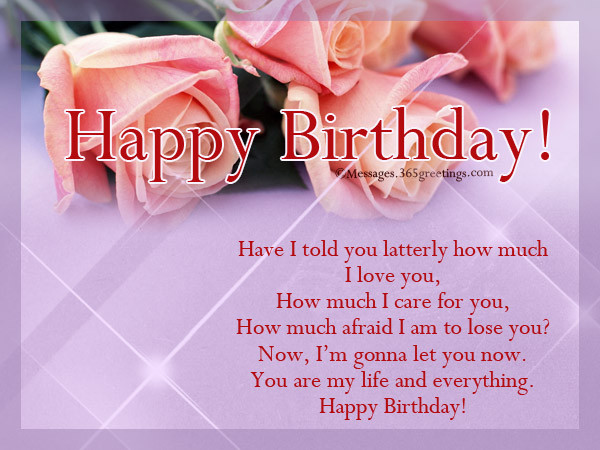 Best ideas about Romantic Birthday Wishes For Girlfriend . Save or Pin Romantic Birthday Wishes 365greetings Now.