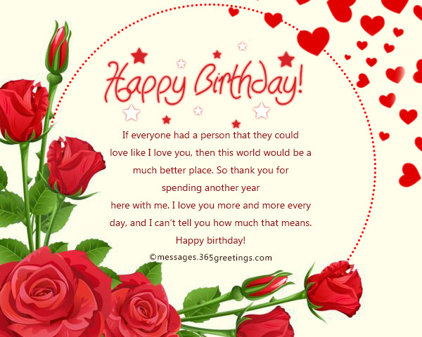 Best ideas about Romantic Birthday Wishes For Girlfriend . Save or Pin Romantic Birthday Wishes And Messages Wordings and Messages Now.