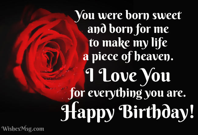 Best ideas about Romantic Birthday Wishes For Girlfriend . Save or Pin Birthday Wishes for Girlfriend Cute Romantic & Funny Now.