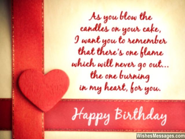 Best ideas about Romantic Birthday Wishes For Girlfriend . Save or Pin Birthday Wishes for Girlfriend Quotes and Messages Now.