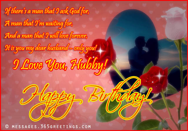 Best ideas about Romantic Birthday Wishes For Husband . Save or Pin Birthday Wishes for Husband 365greetings Now.