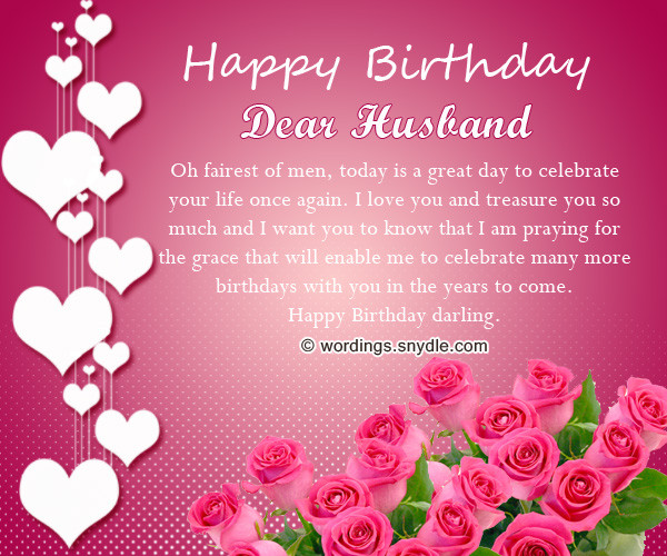 Best ideas about Romantic Birthday Wishes For Husband . Save or Pin Birthday Wishes for Husband Husband Birthday Messages and Now.