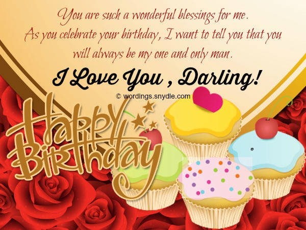 Best ideas about Romantic Birthday Wishes For Husband . Save or Pin Cute of Romantic Birthday Wishes for Husband from Now.