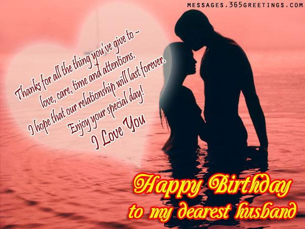 Best ideas about Romantic Birthday Wishes . Save or Pin Birthday Wishes for Husband 365greetings Now.