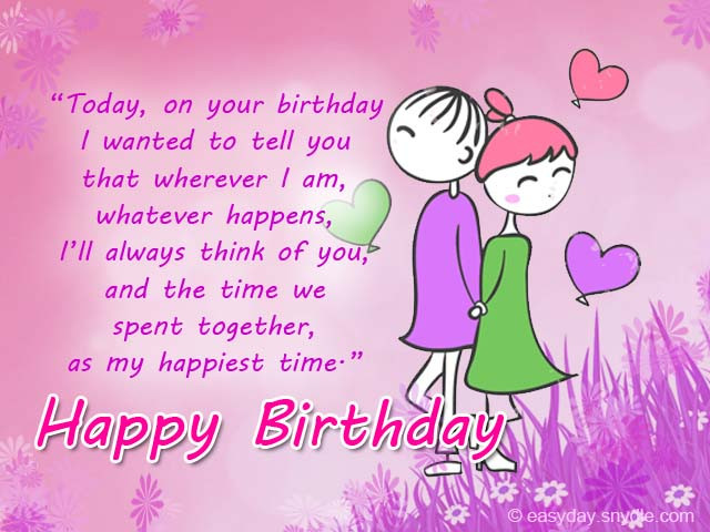 Best ideas about Romantic Birthday Wishes . Save or Pin Romantic Birthday Wishes Easyday Now.