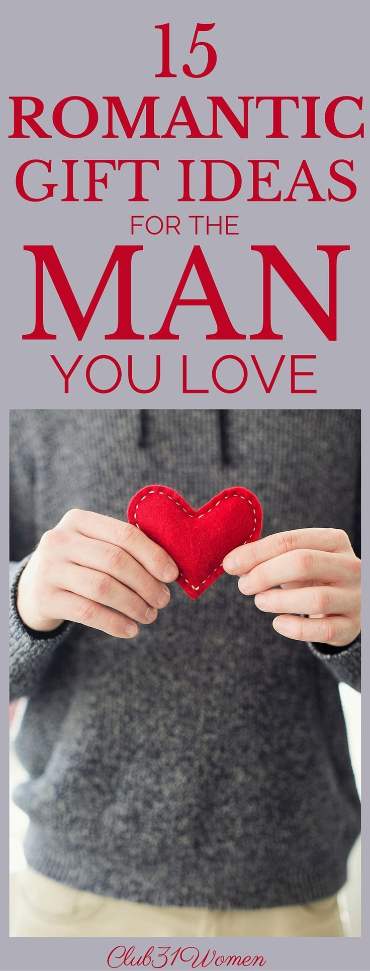 Best ideas about Romantic Gift Ideas For Him . Save or Pin 15 Surprisingly Romantic Gift Ideas for The Man You Love Now.