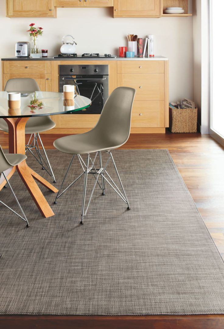 Best ideas about Room And Board Dining Table . Save or Pin Chilewich mat under dining table instead of cowhide rug Now.