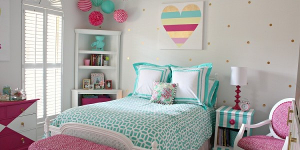 Best ideas about Room Decor Ideas For Tweens . Save or Pin Bright and Bold Tween Room Design Dazzle Now.
