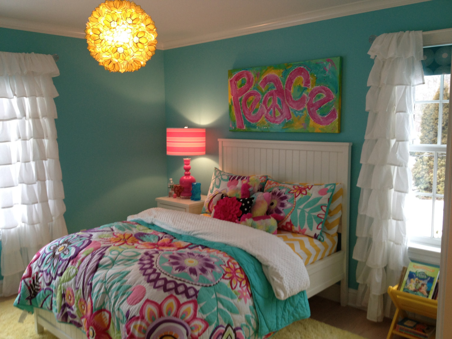 Best ideas about Room Decor Ideas For Tweens . Save or Pin Girls Wall Art Decor Painting Teen Tween by unsophisticatedart Now.