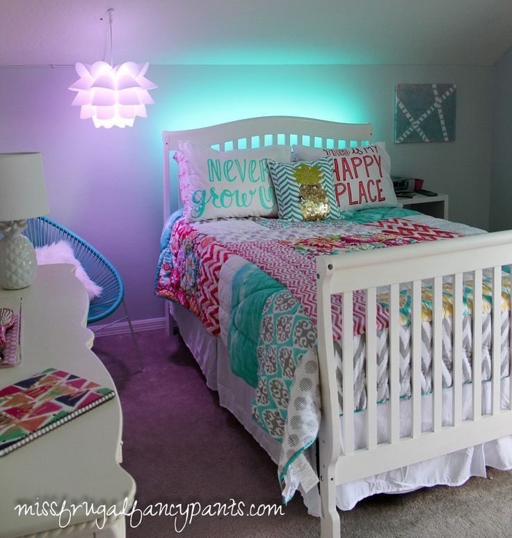 Best ideas about Room Decor Ideas For Tweens . Save or Pin Colorful Tween Bedroom Lighting Now.