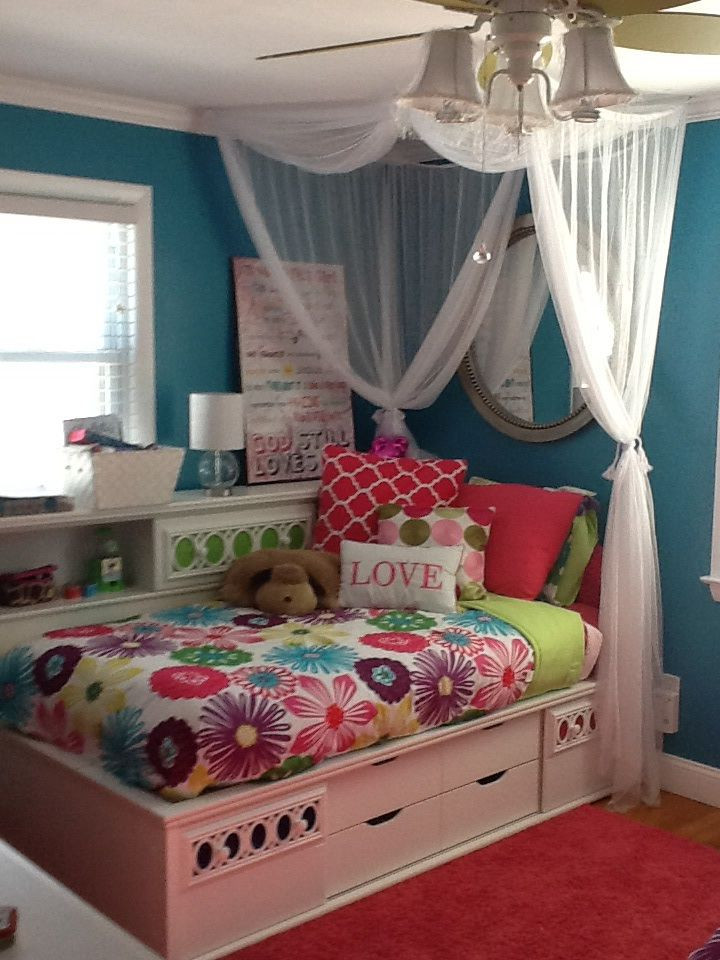 Best ideas about Room Decor Ideas For Tweens . Save or Pin Tween bedroom with bright colors My Style Now.