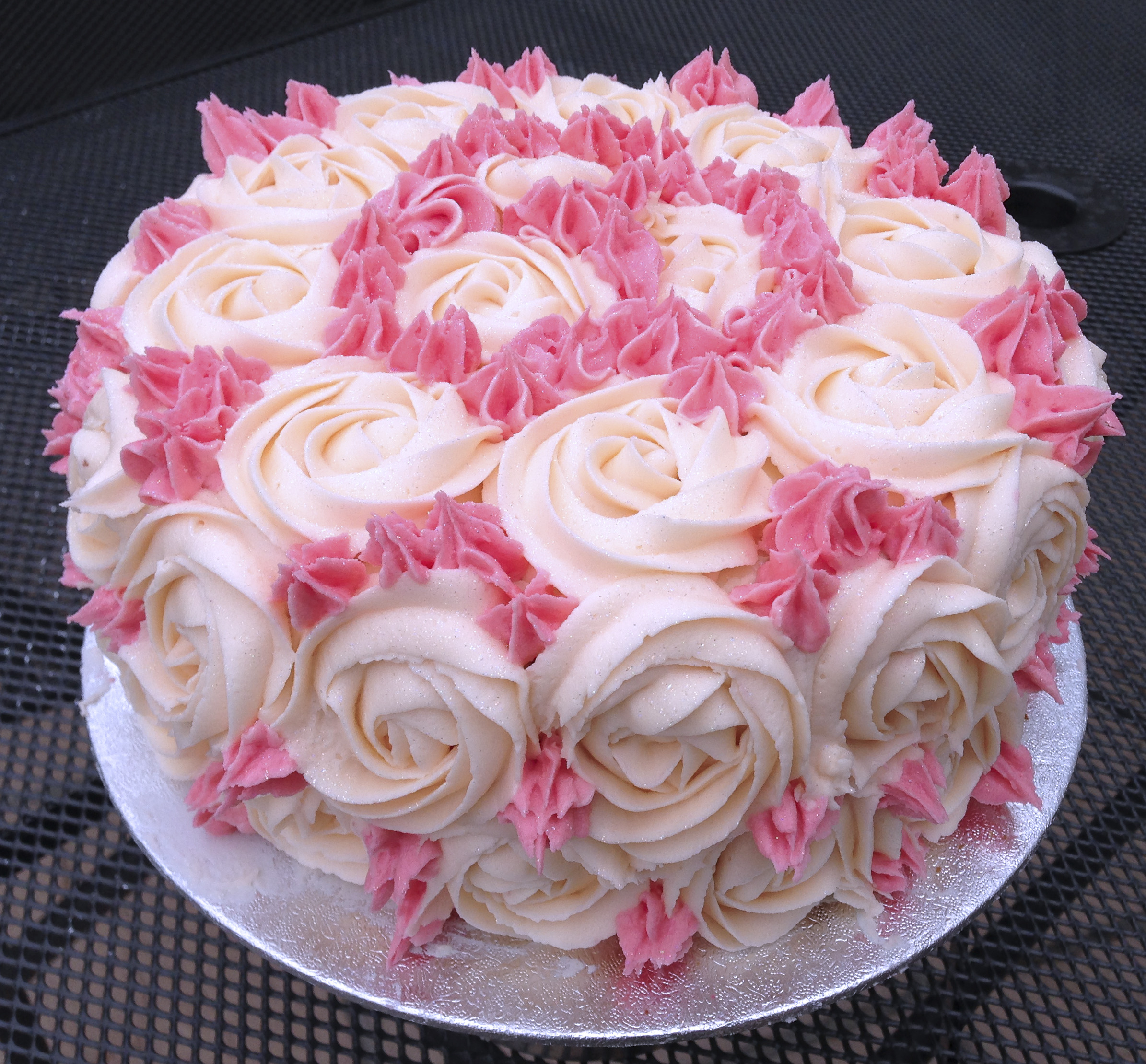 Best ideas about Rose Birthday Cake . Save or Pin Rose Cake Now.
