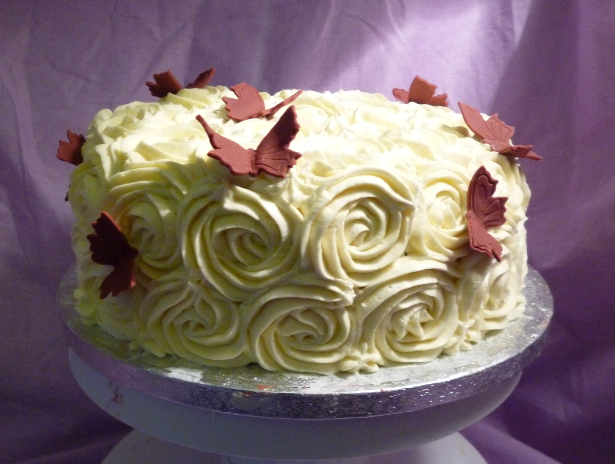 Best ideas about Rose Birthday Cake . Save or Pin Buttercream Roses Birthday Cake CakeCentral Now.