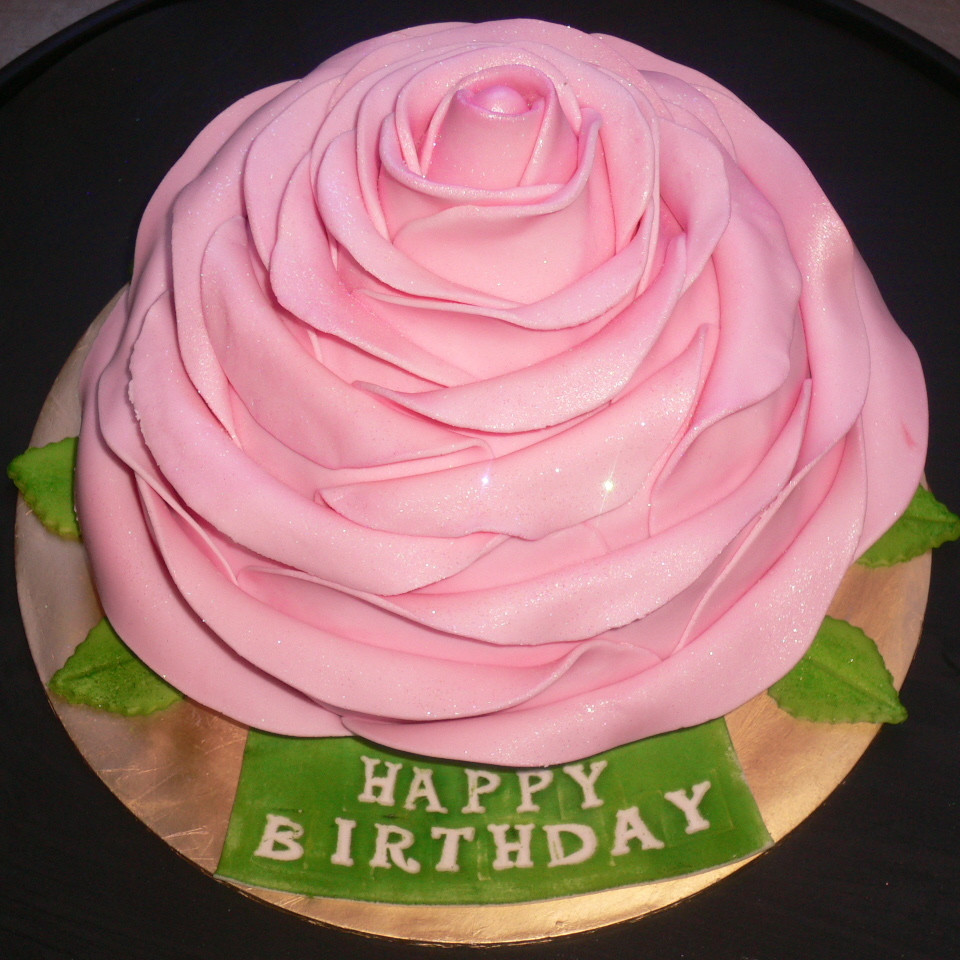 Best ideas about Rose Birthday Cake . Save or Pin Rose Birthday Cake Cake Decorating munity Cakes We Bake Now.