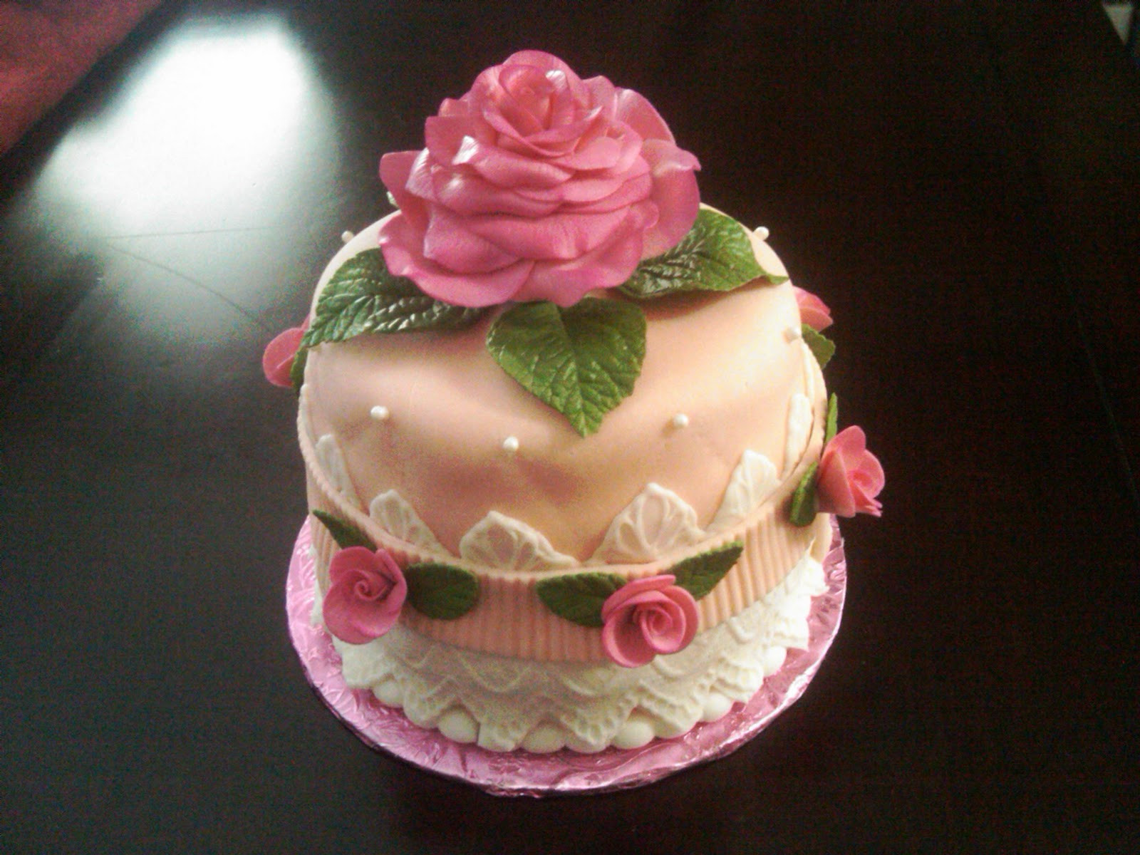 Best ideas about Rose Birthday Cake . Save or Pin Fabbylicious Cakes Rose Birthday Cake Now.