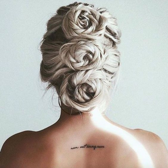 Best ideas about Roses Hairstyles . Save or Pin 14 Pretty Chignons That Will Make Your Easter Sunday Now.
