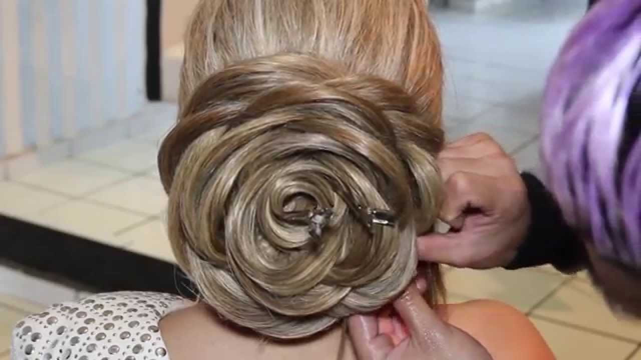 Best ideas about Roses Hairstyles . Save or Pin Rose hairstyle tutorial Now.