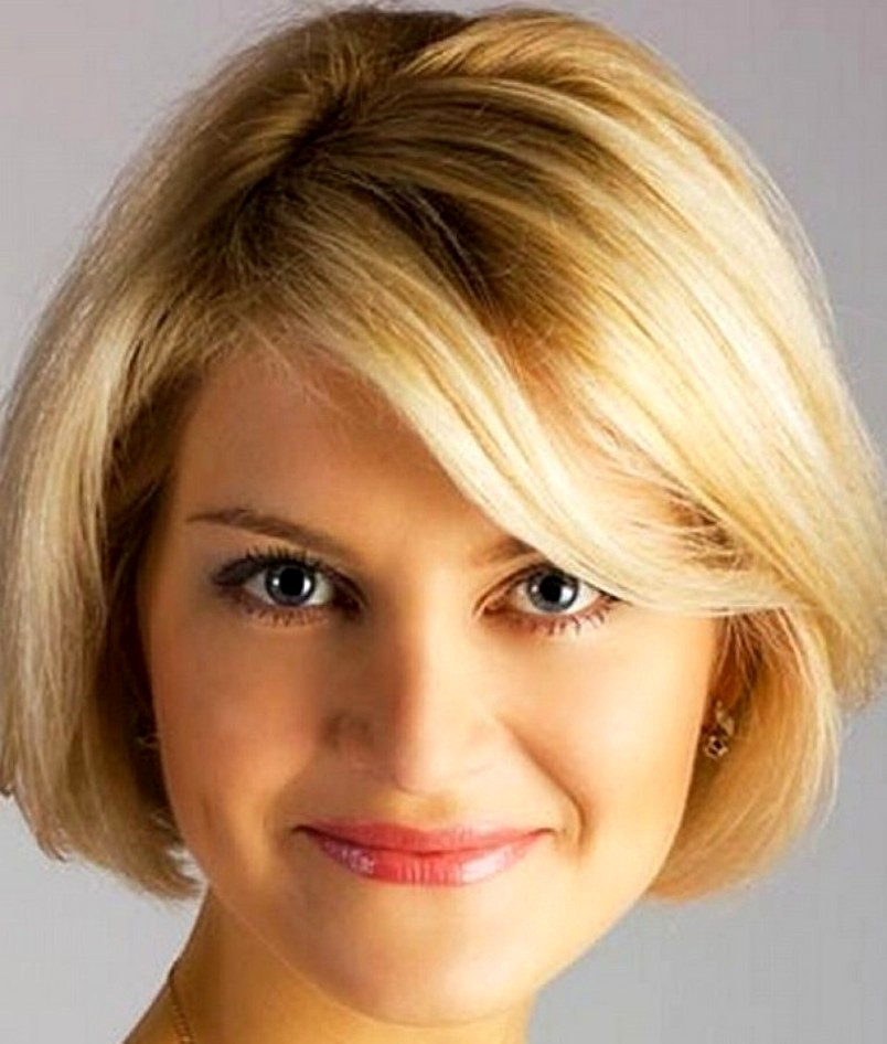 Best ideas about Round Face Hairstyle Female . Save or Pin 14 Best Short Haircuts for Women with Round Faces Now.