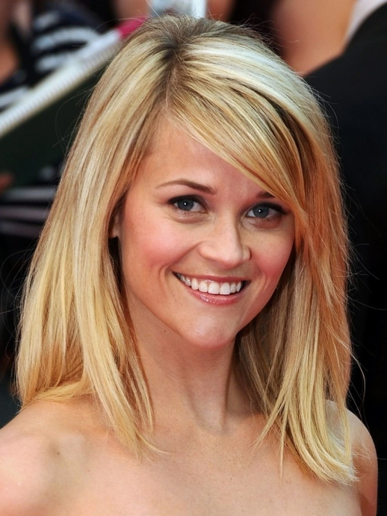 Best ideas about Round Face Medium Length Hairstyles . Save or Pin 20 Medium Hairstyles for Round Faces Tips MagMent Now.
