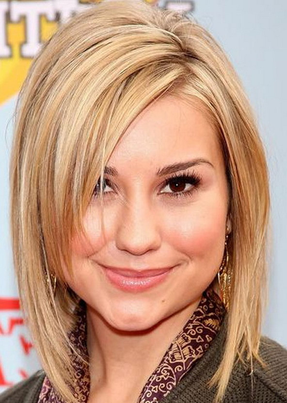 Best ideas about Round Face Medium Length Hairstyles . Save or Pin 25 Beautiful Medium Length Haircuts For Round Faces Now.