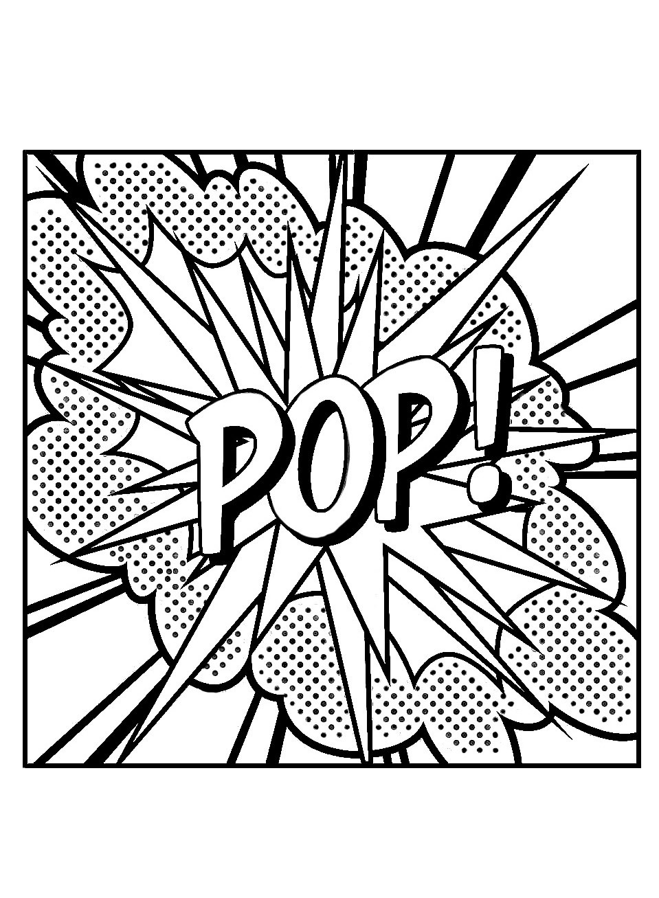 Best ideas about Roy Lichtenstein Coloring Sheets For Kids . Save or Pin Roy lichtenstein to for free Roy Lichtenstein Now.