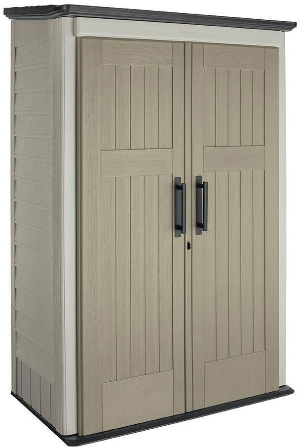 Best ideas about Rubbermaid Vertical Storage Shed . Save or Pin Rubbermaid Vertical Storage Shed 3 Ft X 4 Ft For Now.