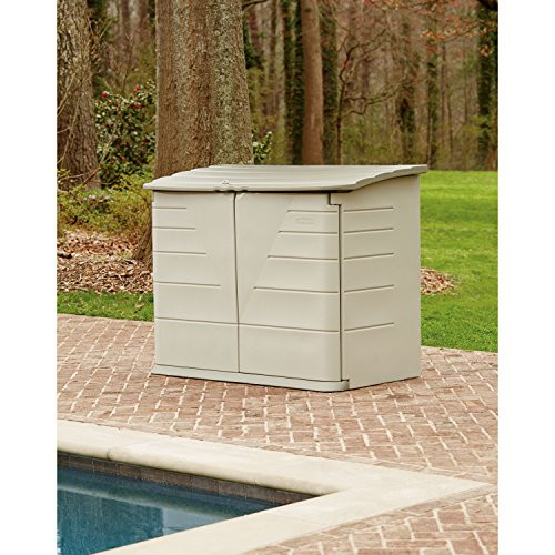 Best ideas about Rubbermaid Vertical Storage Shed . Save or Pin Rubbermaid Outdoor Horizontal Storage Shed 32 cu Now.