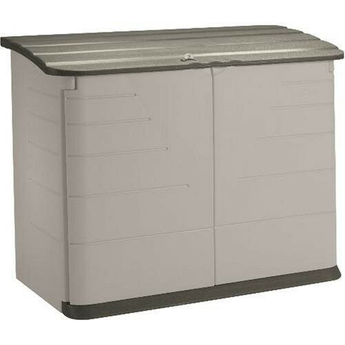 Best ideas about Rubbermaid Vertical Storage Shed . Save or Pin Rubbermaid Plastic Horizontal Outdoor Storage Shed 32 Now.