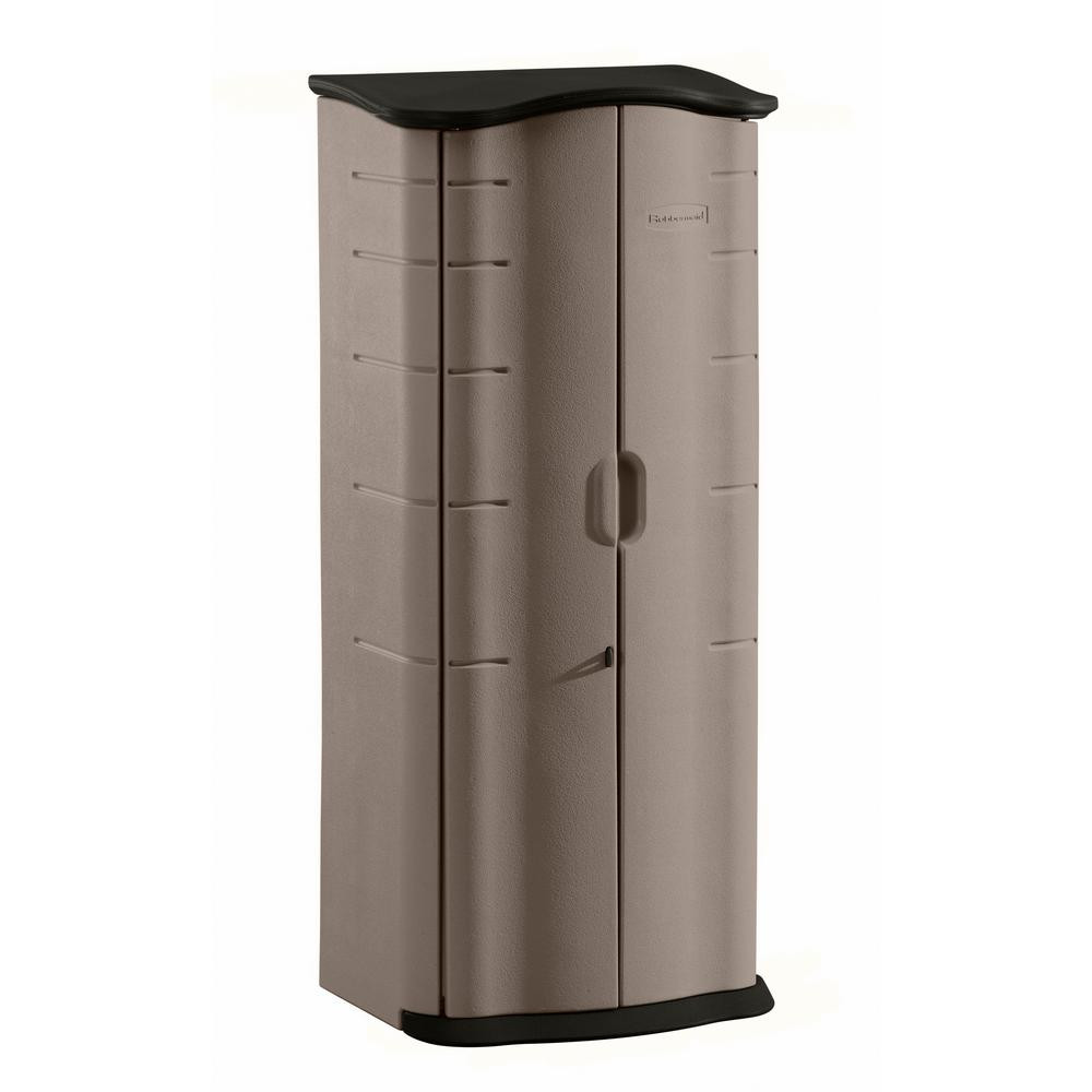 Best ideas about Rubbermaid Vertical Storage Shed . Save or Pin Rubbermaid 2 ft x 2 ft Vertical Storage Shed Now.
