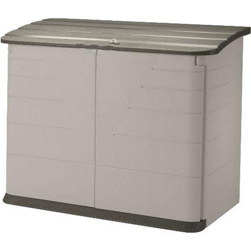 Best ideas about Rubbermaid Vertical Storage Shed . Save or Pin Rubbermaid Horizontal Storage Shed Review Zacs Garden Now.
