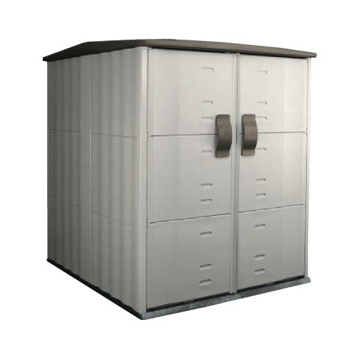 Best ideas about Rubbermaid Vertical Storage Shed . Save or Pin Rubbermaid Roughneck Modular Vertical Outdoor Now.