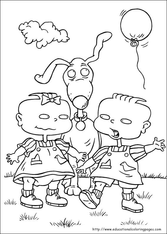 Best ideas about Rugrats Printable Coloring Pages . Save or Pin Rugrats Coloring Pages Educational Fun Kids Coloring Now.