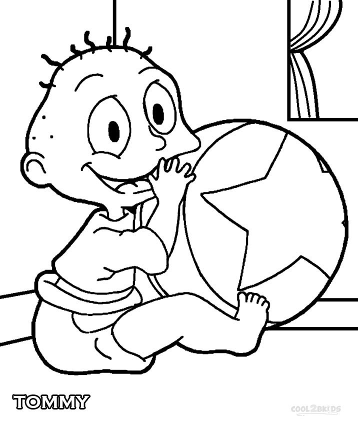Best ideas about Rugrats Printable Coloring Pages . Save or Pin Printable Rugrats Coloring Pages For Kids Now.