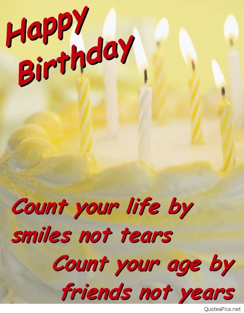 Best ideas about Sad Birthday Quote . Save or Pin Happy birthday friends wishes cards messages Now.